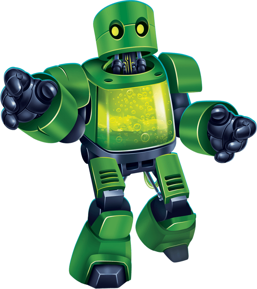 chemical-robot green