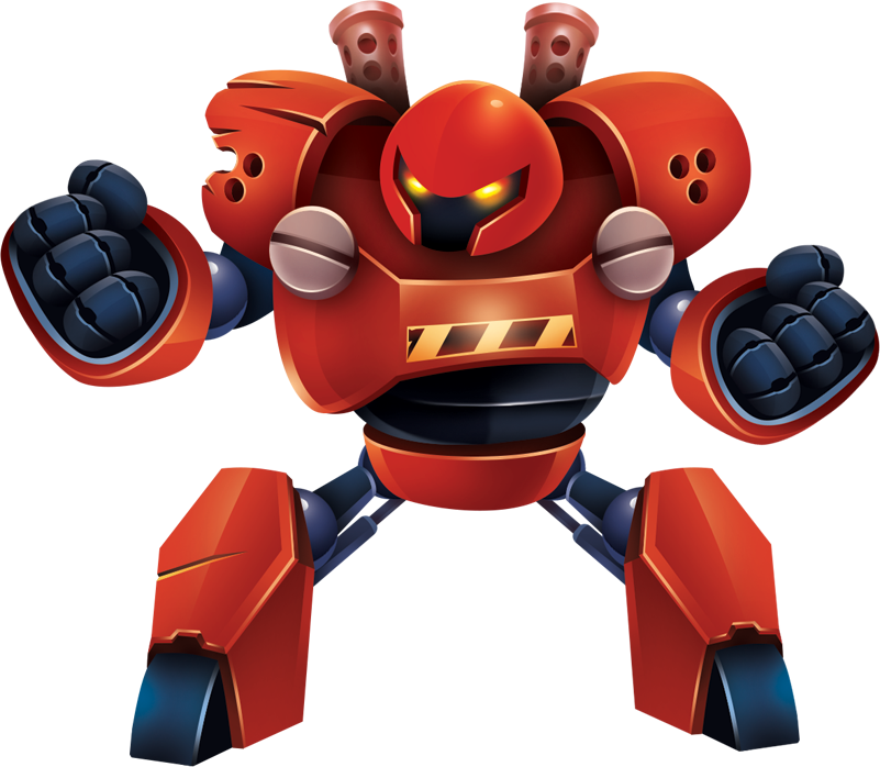 nuclear-robot red